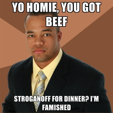 Embrace the Beef